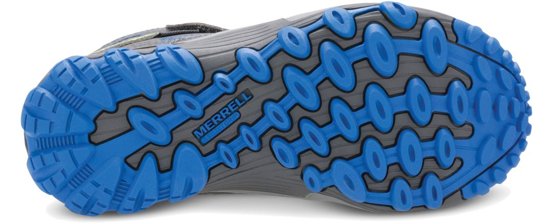 c00f61c6bfa Merrell Kids' Chameleon 7 Access Mid A/C Waterproof Hiking Boots