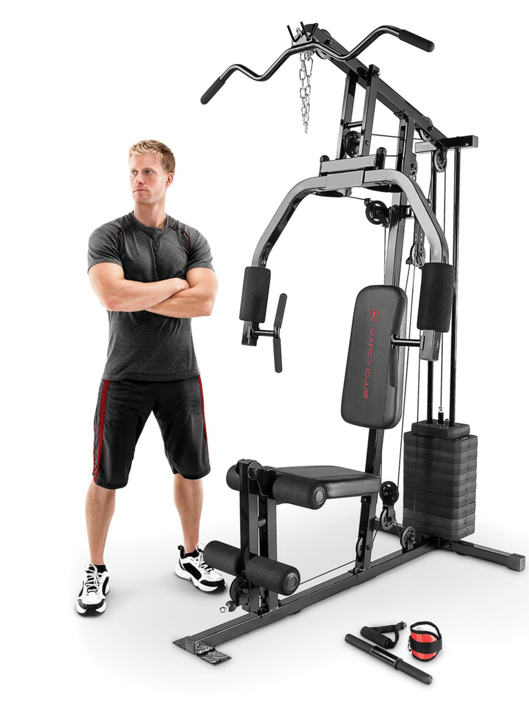 Marcy 100 lb. single stack home gym dicks sporting goods