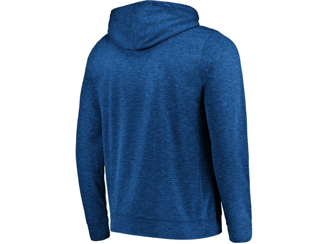 reputable site 9a331 cf1a4 Majestic Men's Tampa Bay Lightning Elite Blue Full-Zip Hoodie