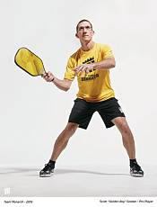 Monarch Golden Axe Pickleball Paddle product image