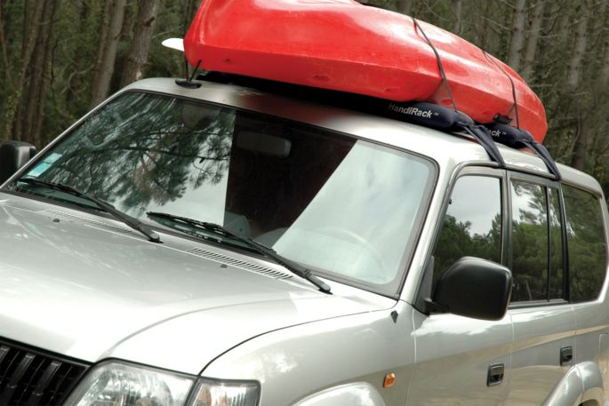 Kayak Roof Rack For Cars Without Rails >> Malone Handirack Inflatable Roof Rack
