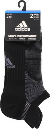 adidas Men's Superlite Prime Mesh III Tabbed No Show Socks - 2 Pack product image
