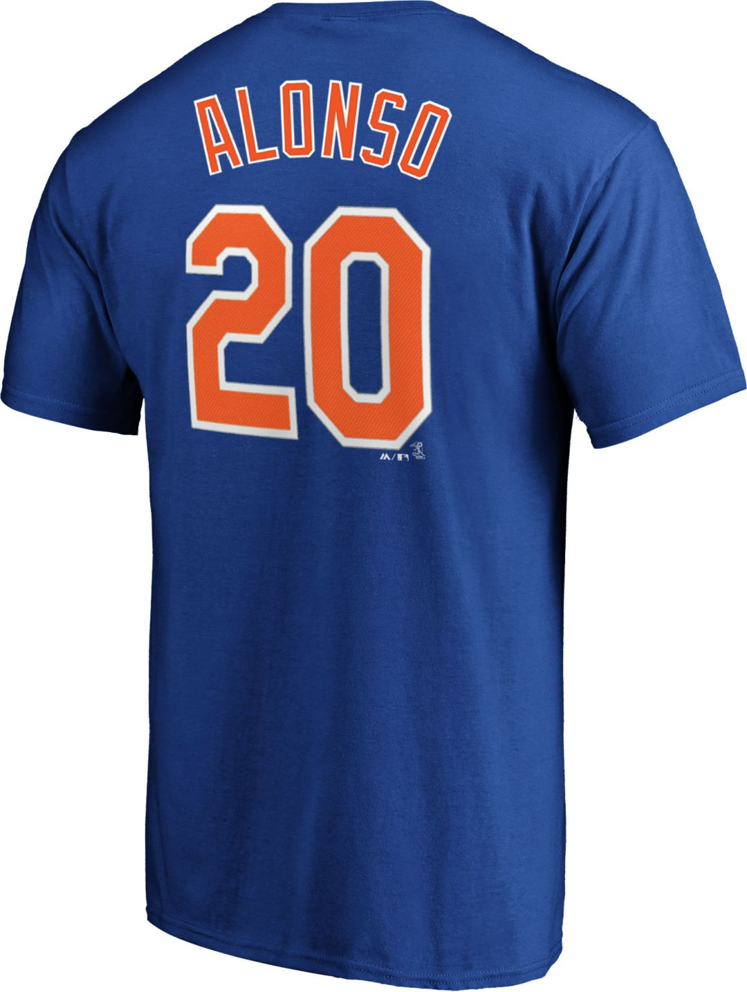 0afdcca3 Majestic Men's New York Mets Pete Alonso #20 Royal T-Shirt   DICK'S ...