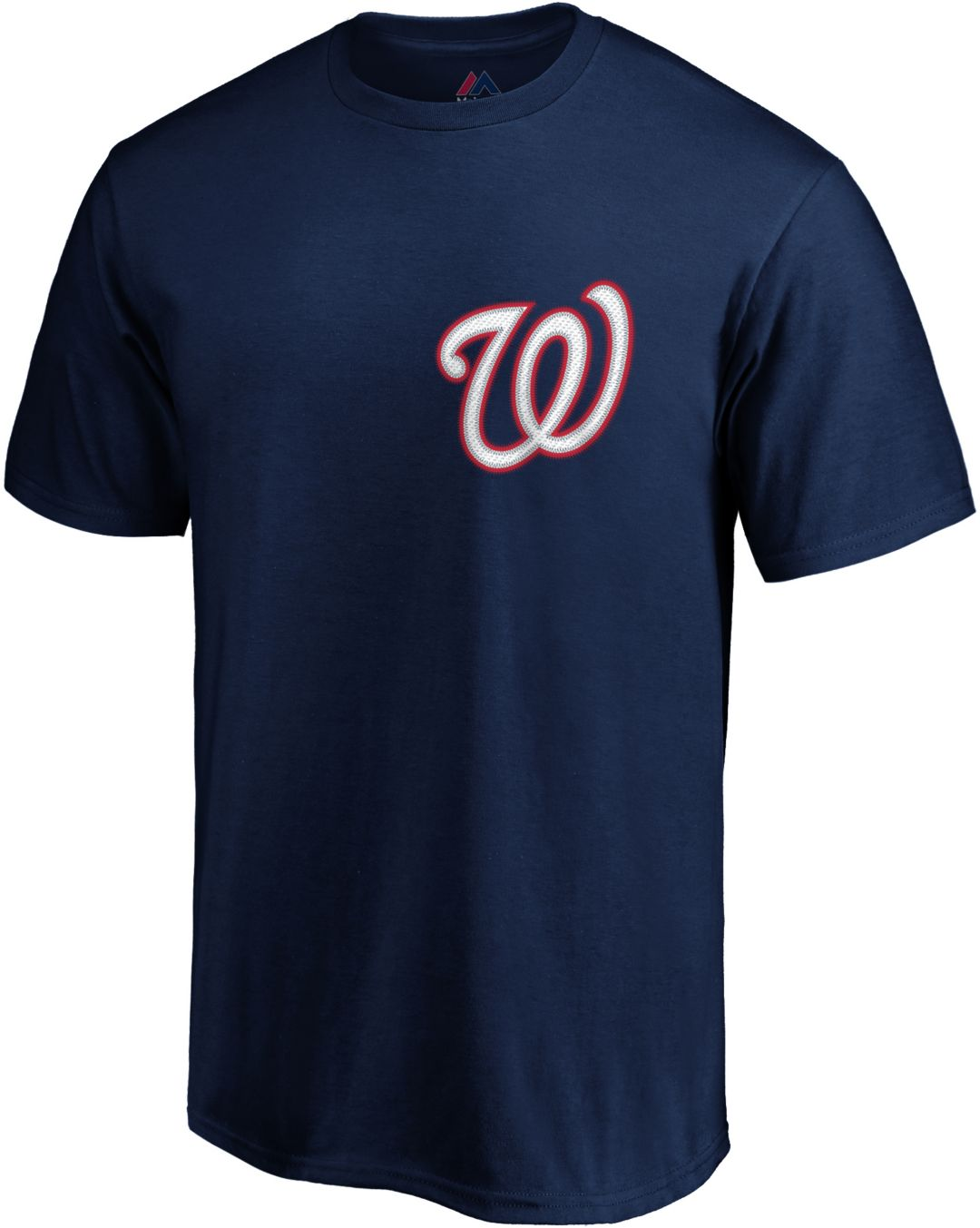 newest 7ee6e 3a6e6 Majestic Men's Washington Nationals Max Scherzer #31 Navy T-Shirt