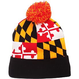 1235b6f59422fb Zephyr Men's Maryland Terrapins 'Maryland Pride' Knit Hat | DICK'S ...