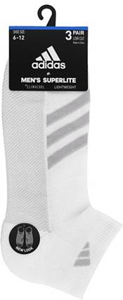 adidas Men's Superlite Stripe Low Cut Socks - 3 Pack product image