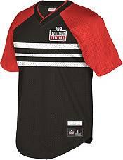 Mitchell & Ness Men's Washington D.C. United '96 Retro Black V-Neck Jersey product image