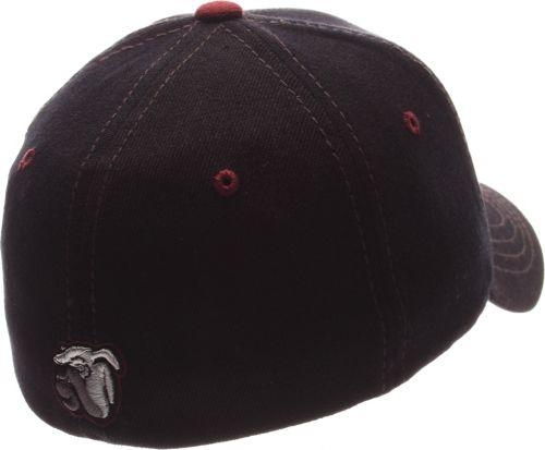 3f54c0bc24a Zephyr Men s Mississippi State Bulldogs Black Element ZClassic Flexfit Hat