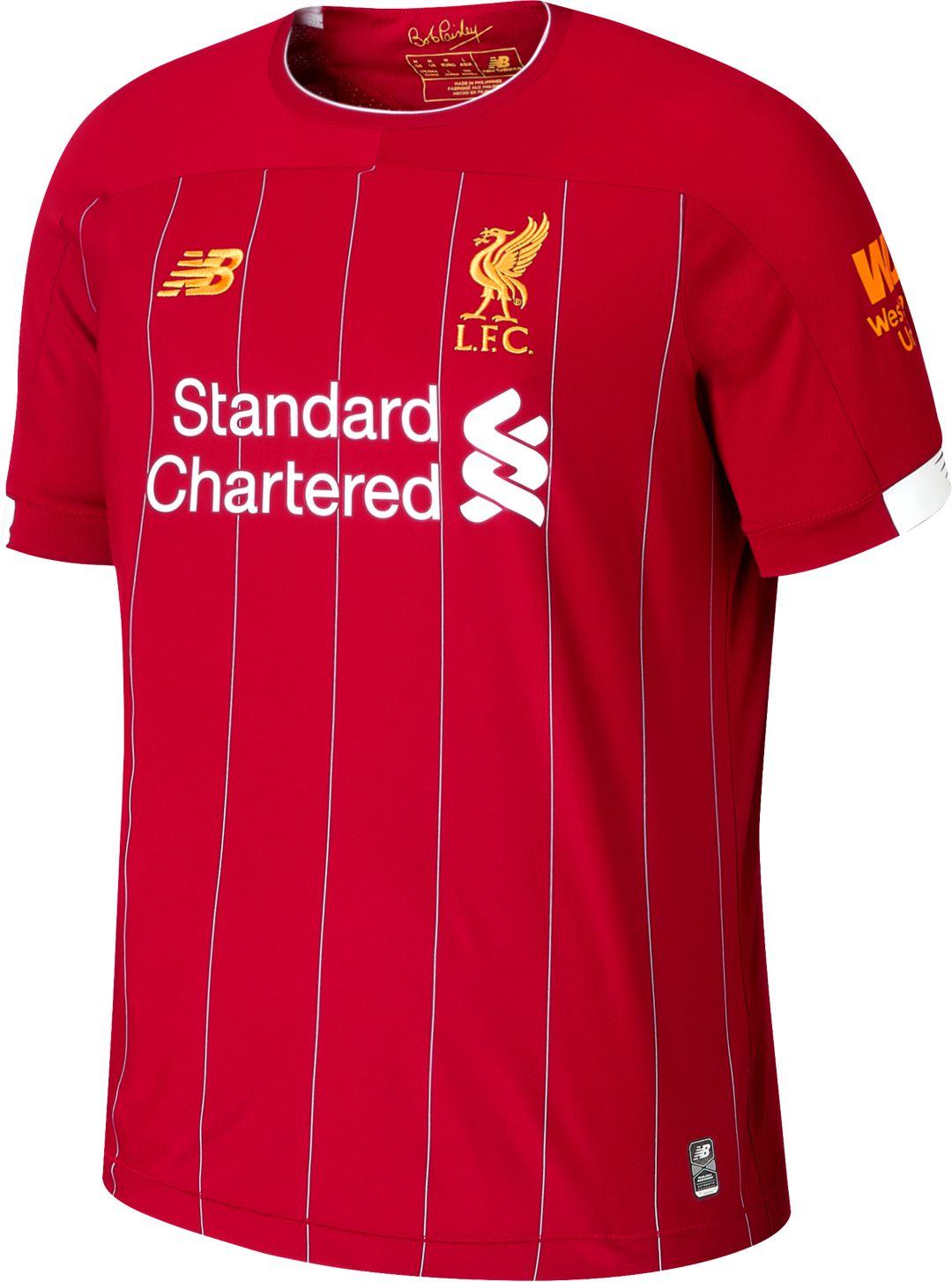 timeless design 2f6fb 49635 New Balance Men's Liverpool '19 Stadium Home Replica Jersey
