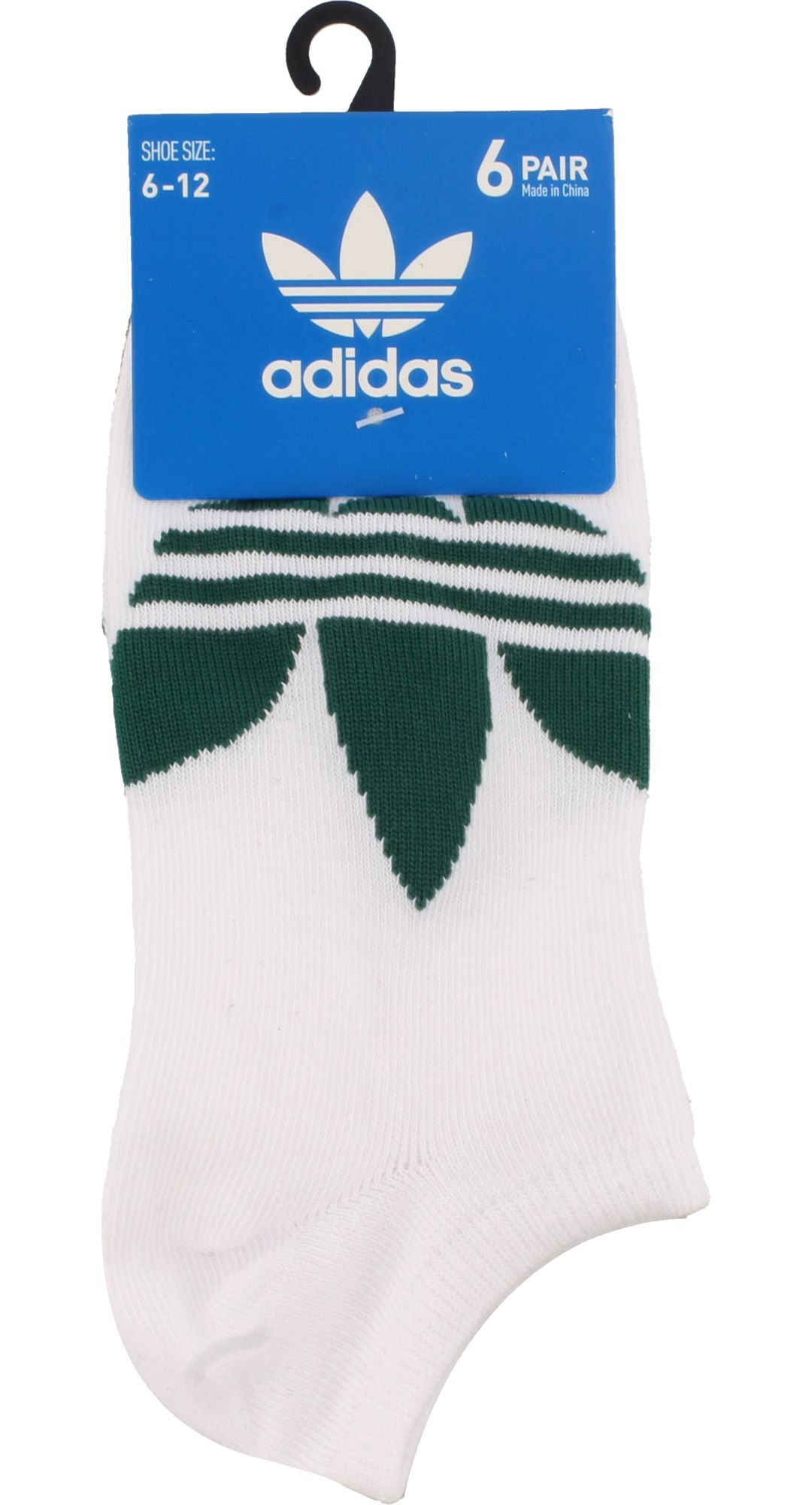 a22d41310d adidas Men's Originals Trefoil Superlite No Show Socks 6 Pack