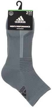adidas Men's Superlite Quarter Socks 2 Pack product image
