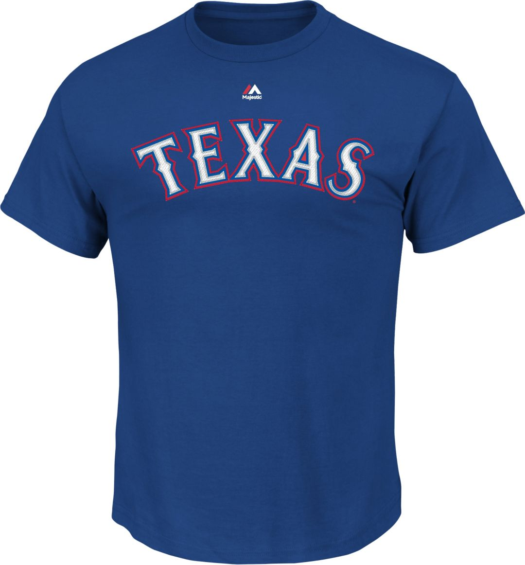 best service cc1e6 ac6f2 Majestic Youth Texas Rangers Rougned Odor #12 Royal T-Shirt