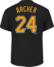 Majestic Youth Pittsburgh Pirates Chris Archer #24 Black T-Shirt product image