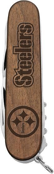 Sports Vault Pittsburgh Steelers Classic Wood Pocket Multi-Tool product image