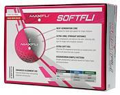 Maxfli 2021 Softfli Matte Pink Golf Balls product image