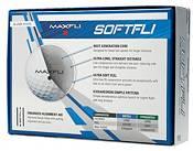 Maxfli 2021 Softfli Gloss White Golf Balls product image