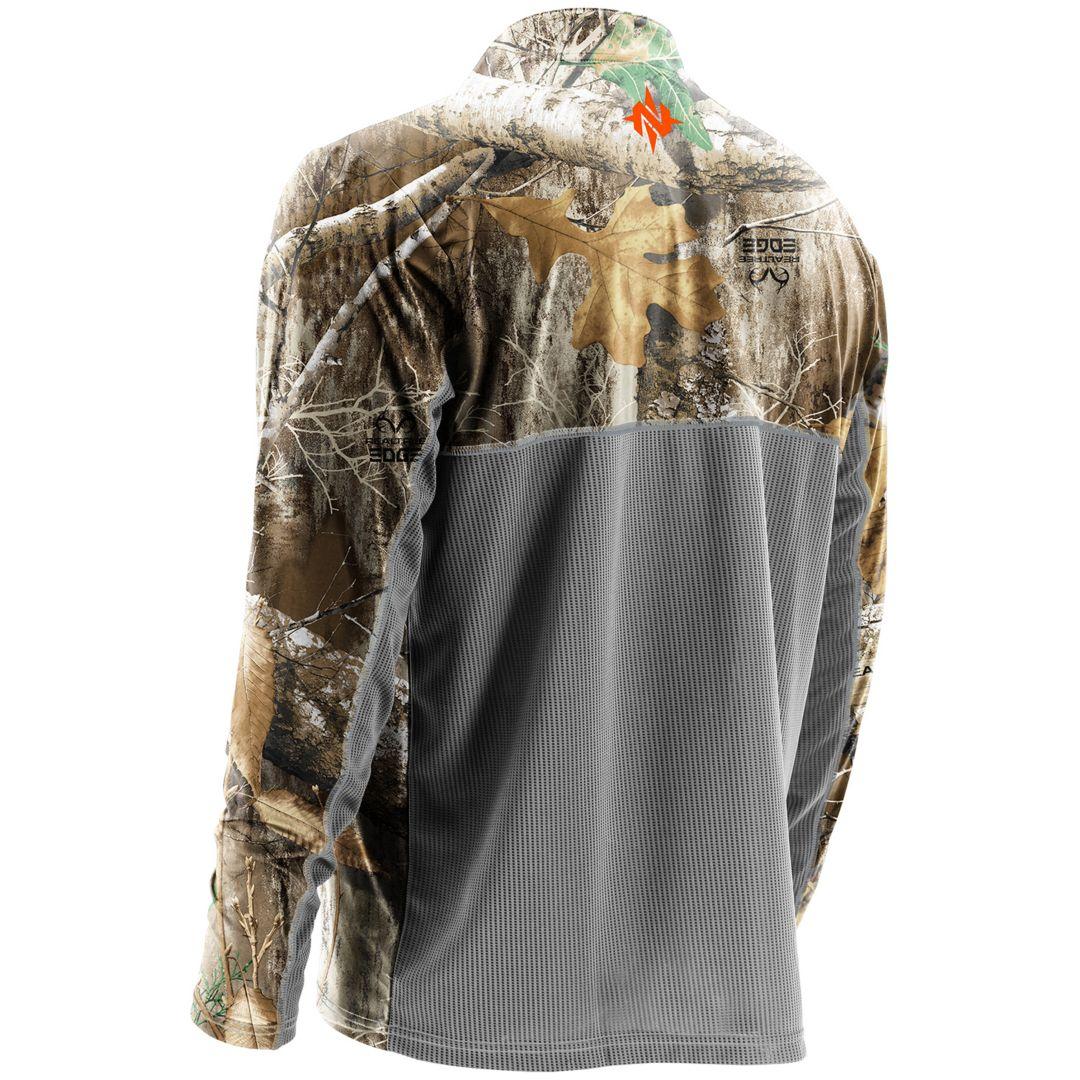 2947dc81 NOMAD Men's Quarter Zip Long Sleeve Hunting Shirt | DICK'S Sporting ...