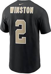 Nike Men's New Orleans Saints Jameis Winston #2 Black T-Shirt product image