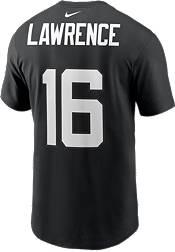 Nike Adult Jacksonville Jaguars Trevor Lawrence #16 Black Short-Sleeve T-Shirt product image