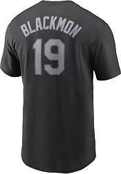 Nike Men's Colorado Rockies Charlie Blockmon #19 Black T-Shirt product image