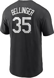 Nike Men's Los Angeles Dodgers Cody Bellinger #35 Black T-Shirt product image