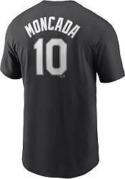 Nike Men's Chicago White Sox Yoan Moncada #10 Black T-Shirt product image