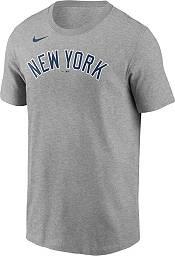 Nike Men's New York Yankees Derek Jeter #2 Gray T-Shirt product image