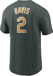Nike Men's Oakland Athletics Khris Davis #2 Green T-Shirt product image