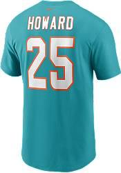 Nike Men's Miami Dolphins Xavien Howard #25 Aqua T-Shirt product image