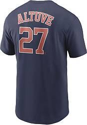 Nike Men's Houston Astros Jose Altuve #27 Navy T-Shirt product image