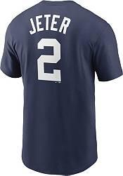 Nike Men's New York Yankees Derek Jeter #2 Navy T-Shirt product image