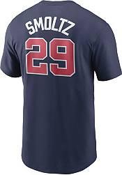 Nike Men's Atlanta Braves John Smoltz #29 Navy T-Shirt product image