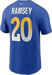 Nike Men's Los Angeles Rams Jalen Ramsey #2 Blue Legend T-Shirt product image