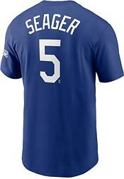 Nike Men's Los Angeles Dodgers Corey Seager #5 Royal T-Shirt product image