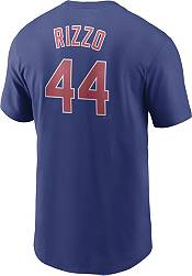 Nike Men's Chicago Cubs Anthony Rizzo #44 Blue T-Shirt product image