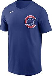 Nike Men's Chicago Cubs Wilson Contreras #40 Blue T-Shirt product image