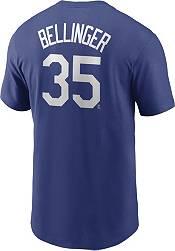 Nike Men's Los Angeles Dodgers Cody Bellinger #35 Blue T-Shirt product image
