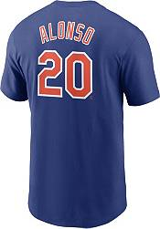Nike Men's New York Mets Pete Alonso #20 Blue T-Shirt product image