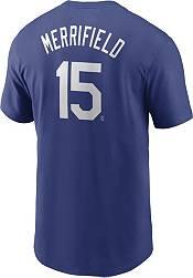 Nike Men's Kansas City Royals Whit Merrifield #15 Blue T-Shirt product image