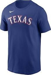 Nike Men's Texas Rangers Joey Gallo #13 Blue T-Shirt product image
