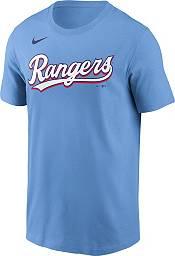 Nike Men's Texas Rangers Joey Gallo #13 Light Blue T-Shirt product image