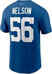 Nike Men's Indianapolis Colts Quenton Nelson #56 Gym Blue T-Shirt product image