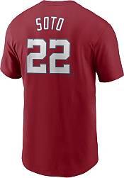 Nike Men's Washington Nationals Juan Soto #22 Red T-Shirt product image