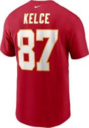 Nike Men's Kansas City Chiefs Travis Kelce #87 University Red T-Shirt product image