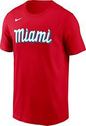 Nike Men's Miami Marlins Brian Anderson #15 Red 2021 City Connect T-Shirt product image