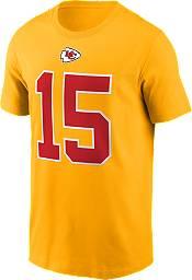 Nike Men's Kansas City Chiefs Patrick Mahomes #15 Gold T-Shirt product image