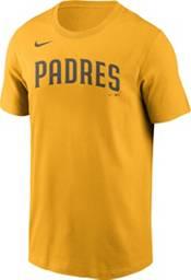 Nike Men's San Diego Padres Fernando Tatis #23 Yellow T-Shirt product image