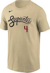 Nike Men's Arizona Diamondbacks Ketel Marte #4 Gold 2021 City Connect T-Shirt product image
