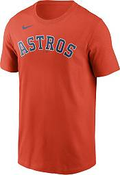 Nike Men's Houston Astros Justin Verlander #35 Orange T-Shirt product image