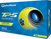 TaylorMade 2021 TP5 Yellow Personalized Golf Balls product image